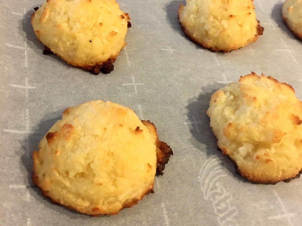 Low Carb Keto Coconut Macaroons Recipe