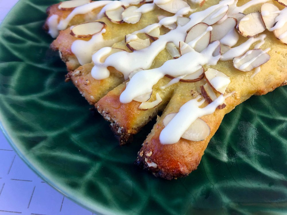 Low Carb Keto Grain Free Bear Claw Recipe