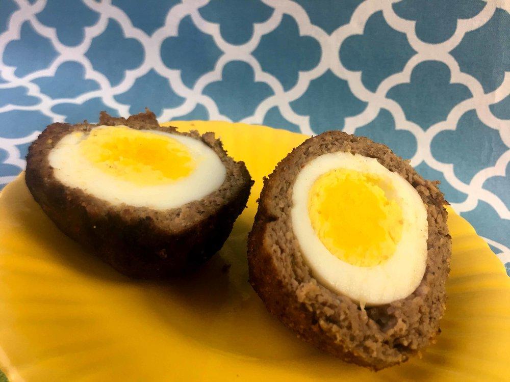 Low Carb Whole30 Keto Scotch Egg Recipe