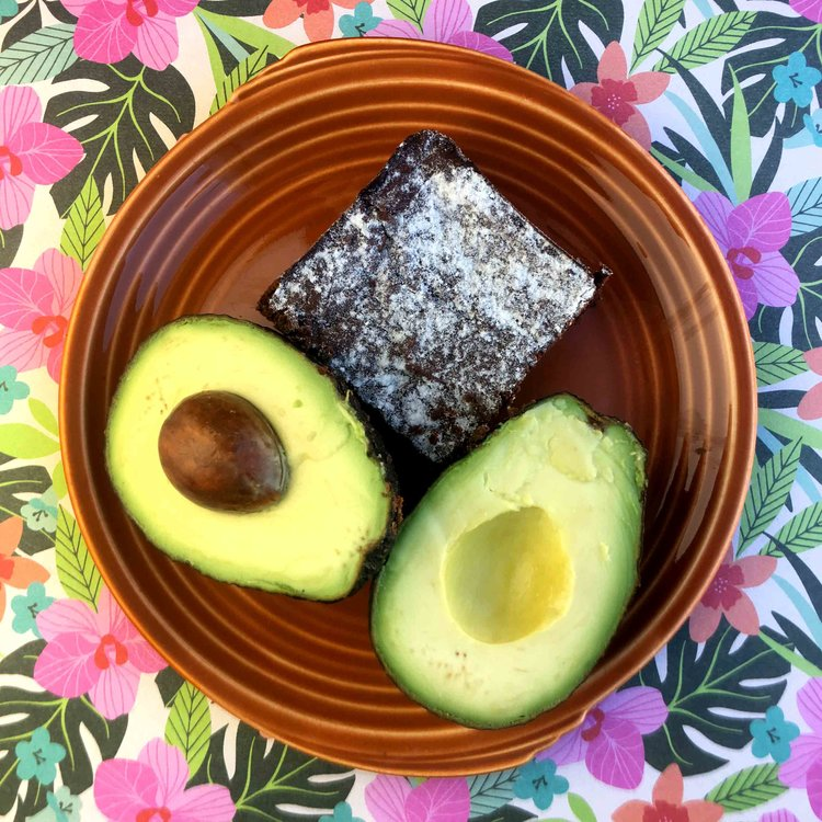 Low Carb Keto Avocado Brownie Recipe