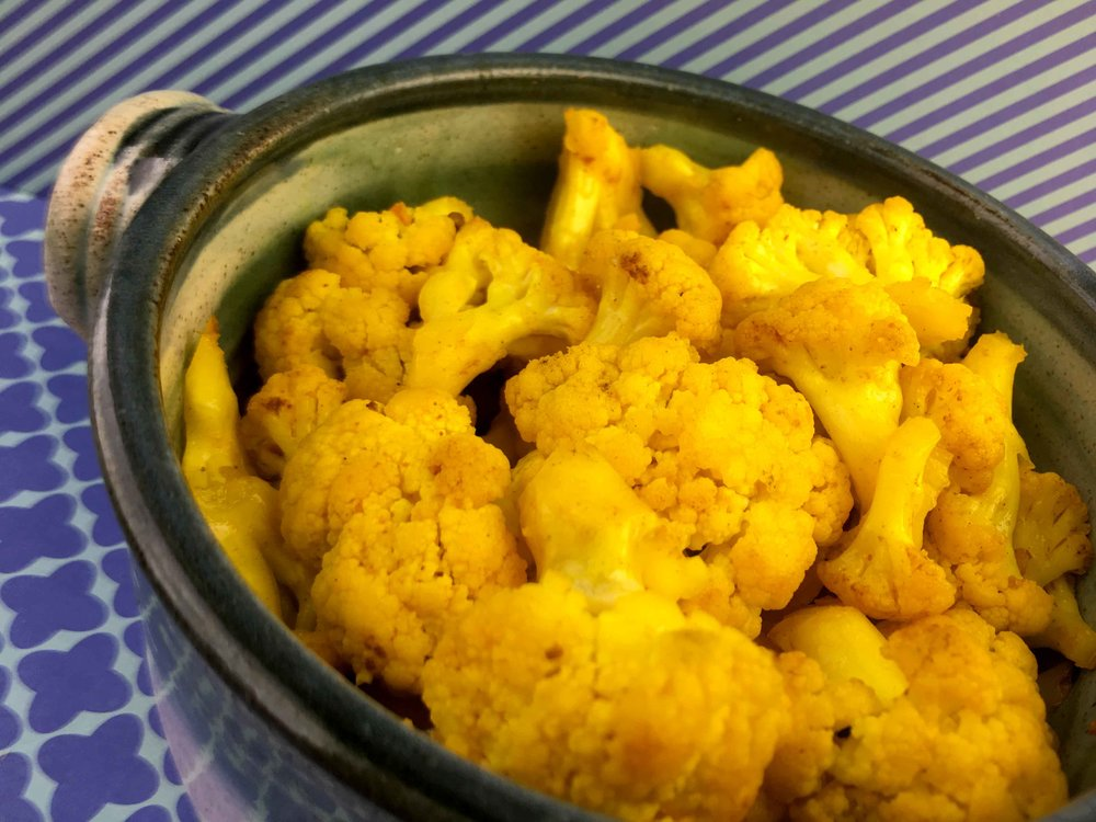 Low Carb Keto Curry Pickled Cauliflower Recipe