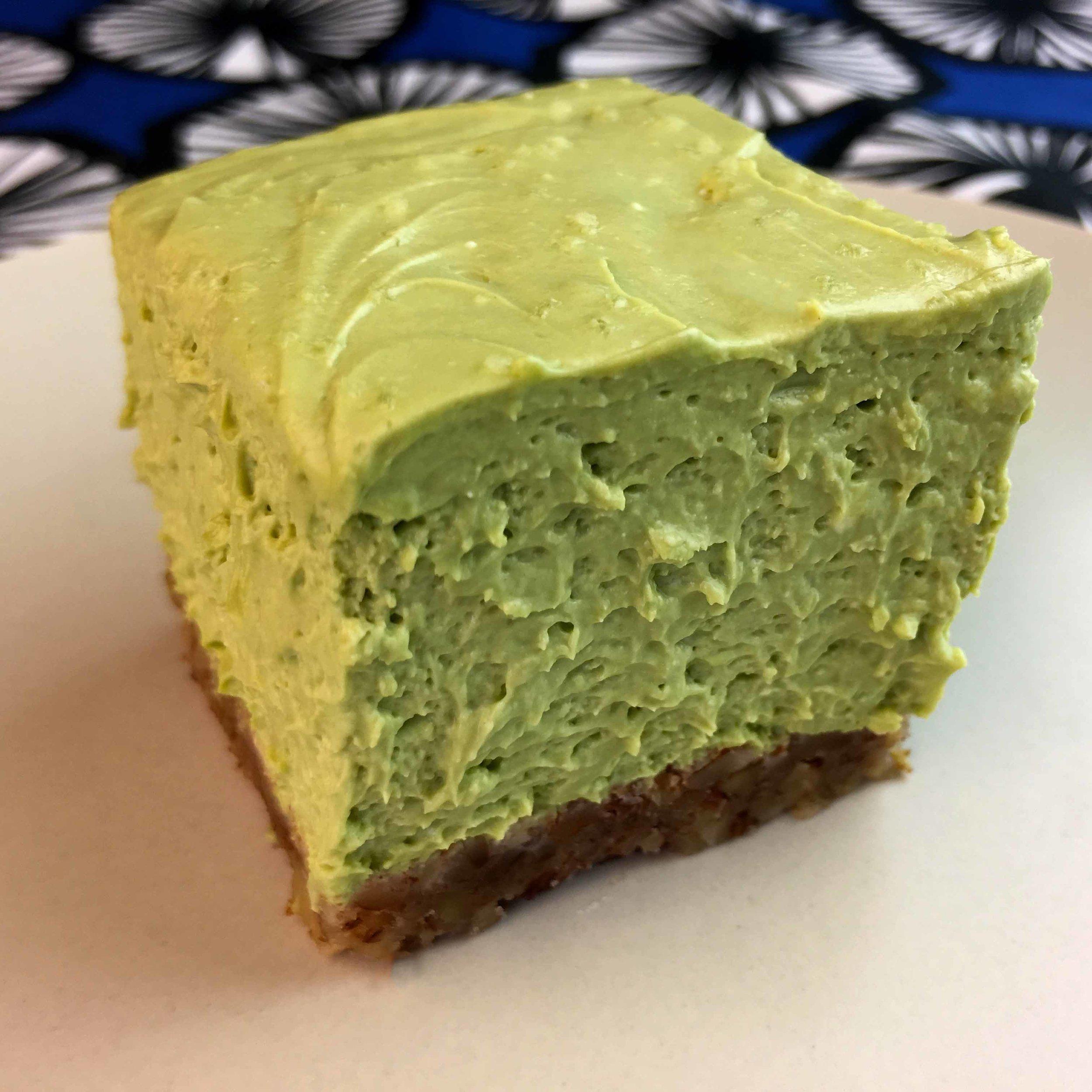 Low Carb Keto Matcha Cheesecake Bar Recipe