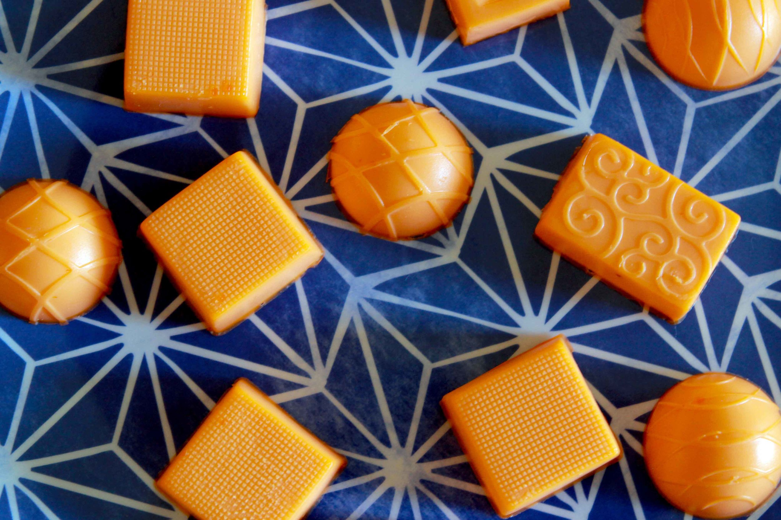 Low Carb Sugar Free Keto Orange Creamsicle Gummy Recipe