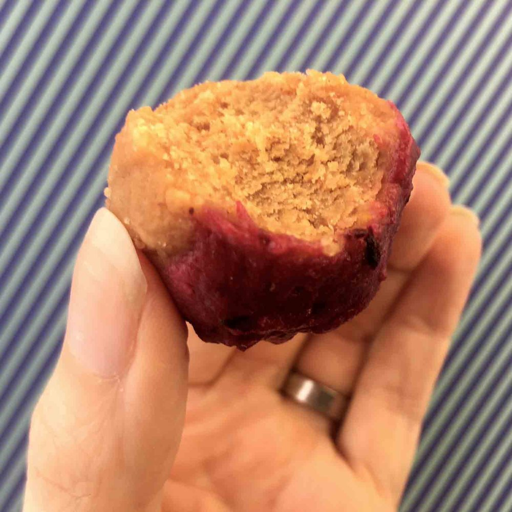 Low Carb Keto Sugar Free Lemon Blueberry Bite Recipe