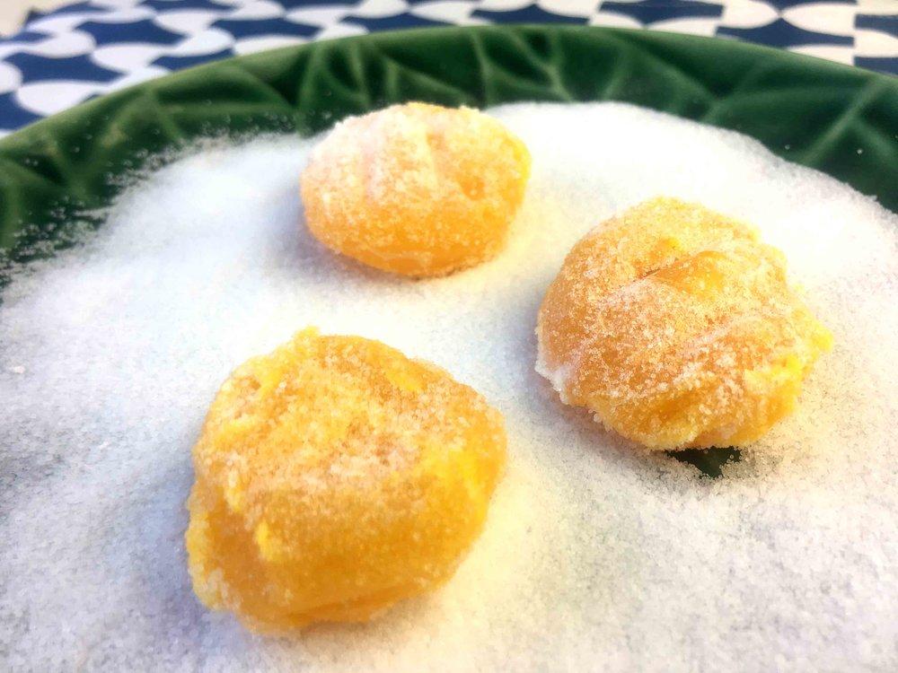 Low Carb Keto Cured Egg Yolk Recipe
