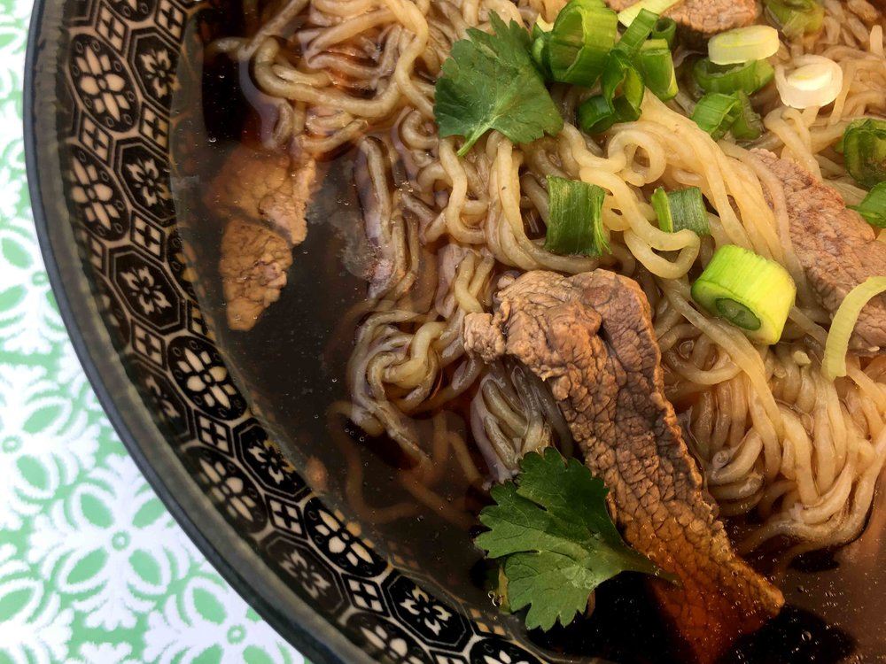Low Carb Keto Beef Shirataki Noodle Pho Recipe