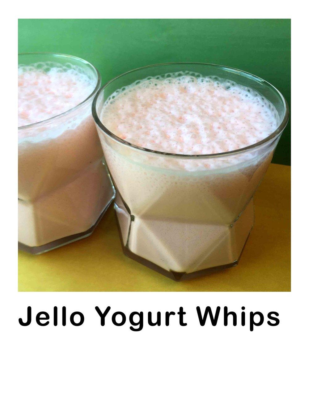 Low Carb Jello Yogurt Whip Recipe