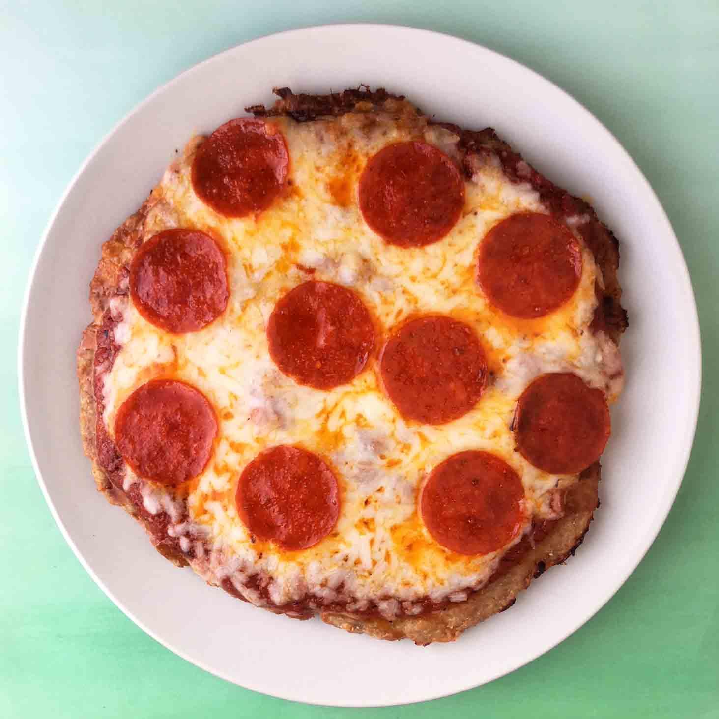 Low Carb Keto Chicken Crust Pizza Recipe