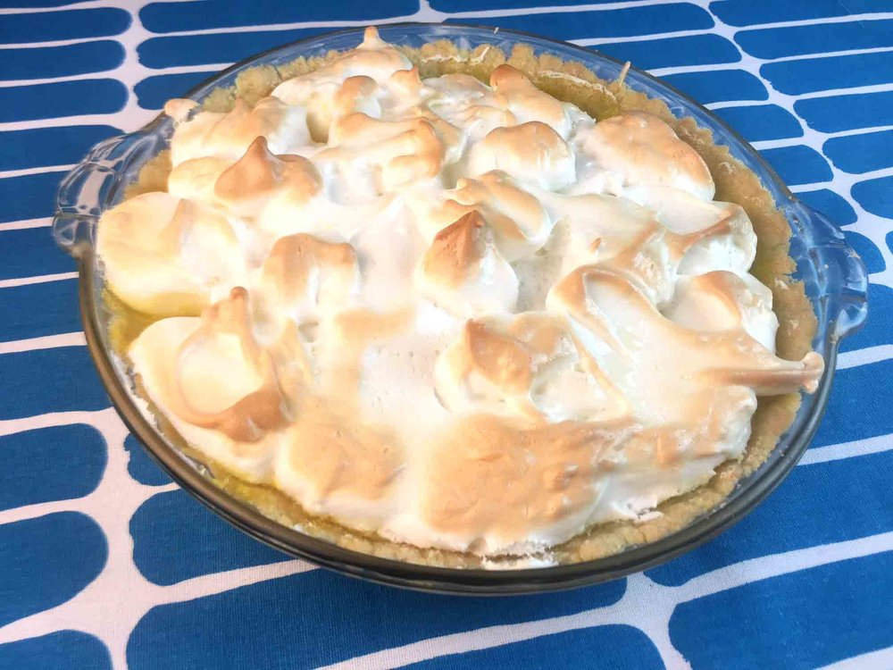 Low Carb Keto Lemon Meringue Pie Recipe