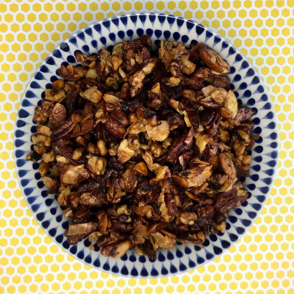 Low Carb Keto Coconut Crunch'n Munch Recipe