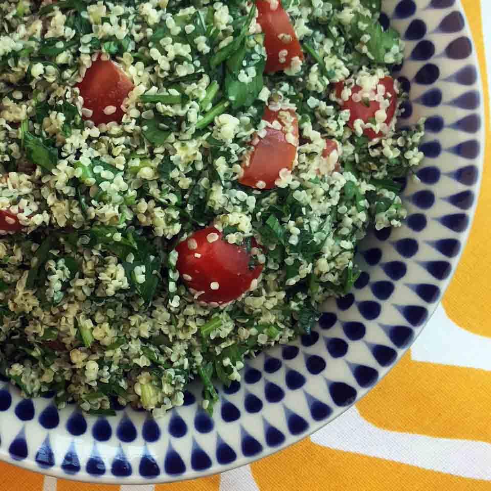 Low Carb Keto Paleo Whole30 Tabouleh Recipe