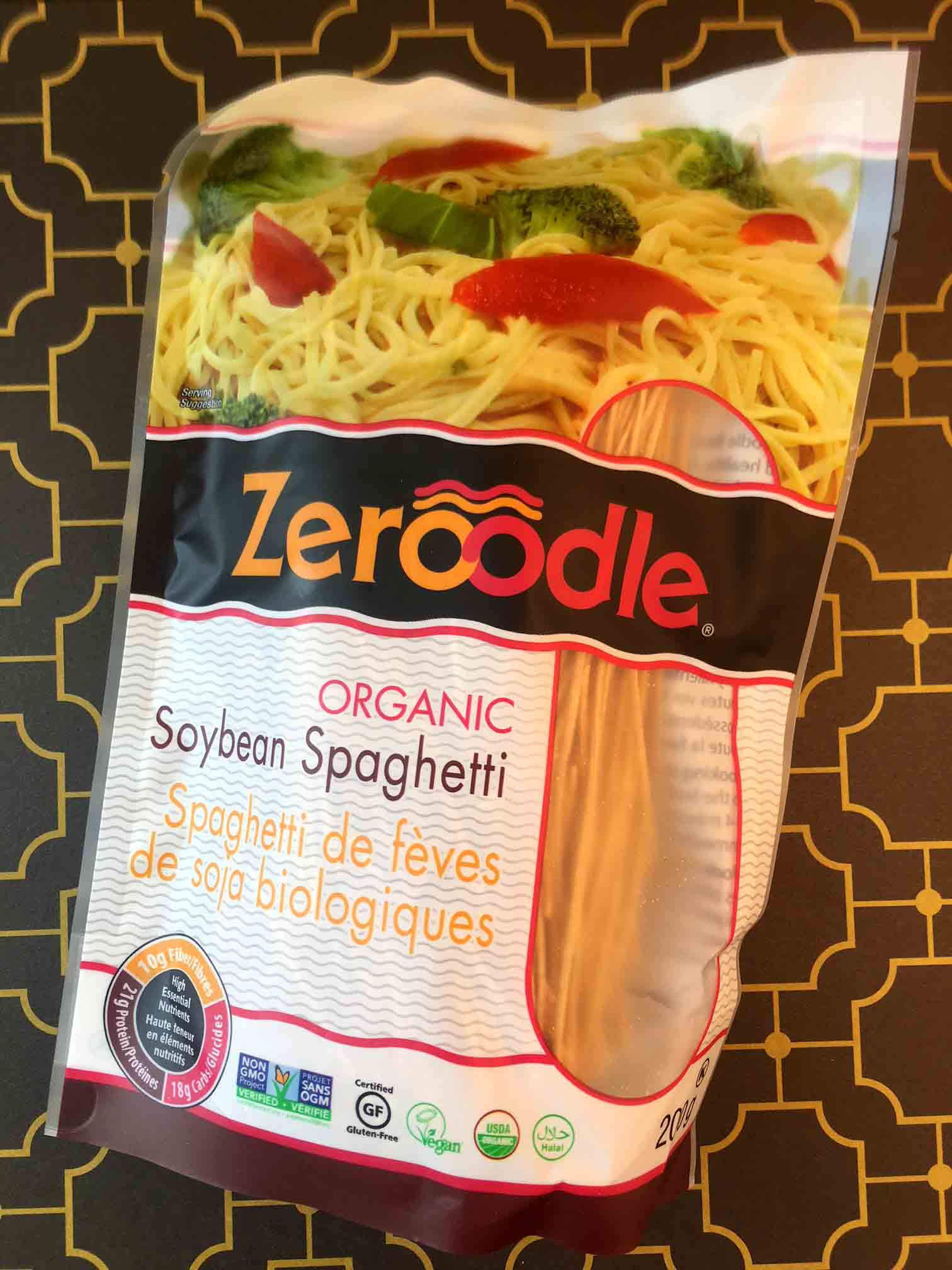 Low Carb Keto Pad Thai Noodles Recipe with Zeroodles