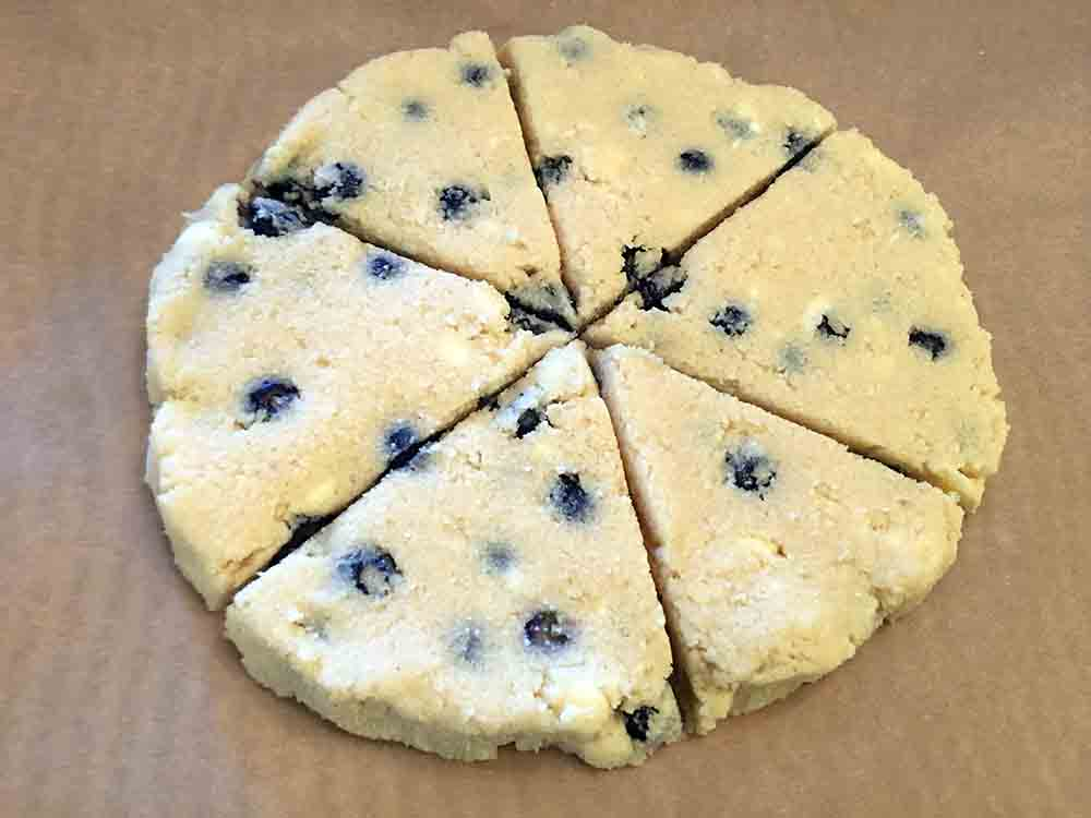 Low Carb Keto Blueberry Scone Recipe Example
