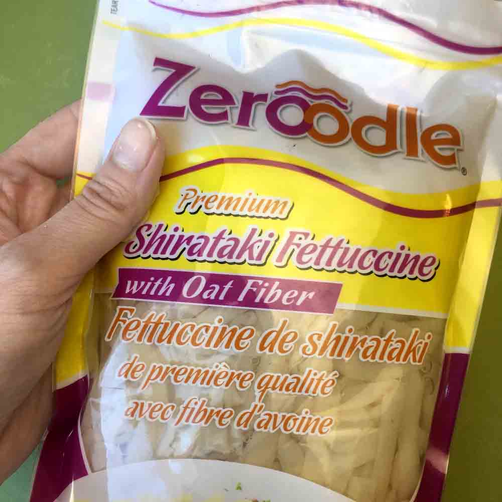 Low Carb Keto Mushroom Fettuccine Recipe with Zeroodles