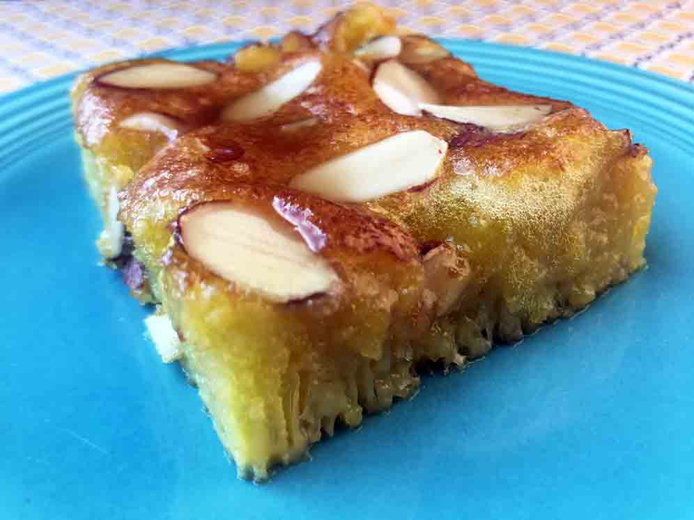 Low Carb Keto Middle Eastern Honey Cake Recipe