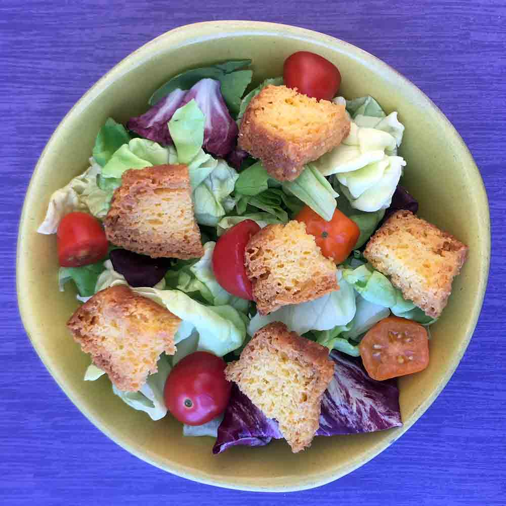 Low Carb Keto Cheddar Croutons Recipe
