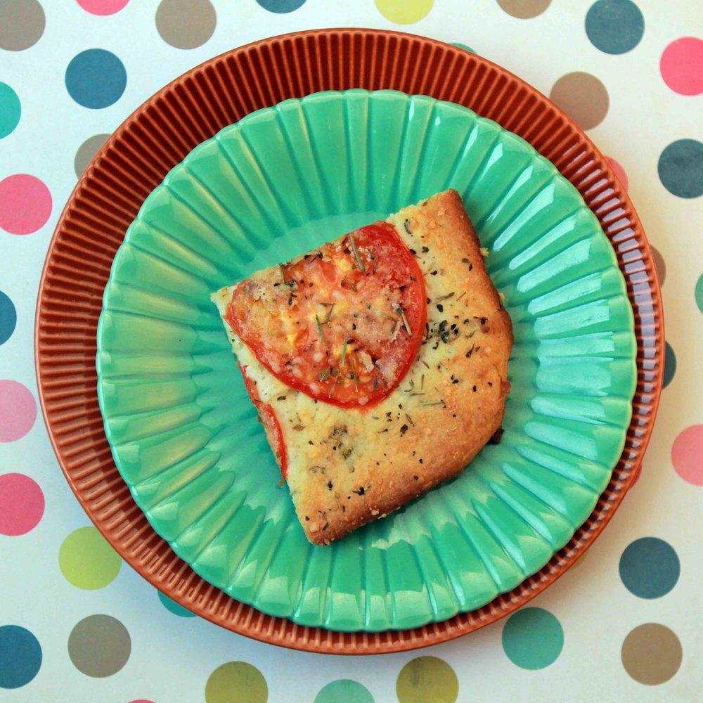 Low Carb Tomato Herb Focaccia Recipe