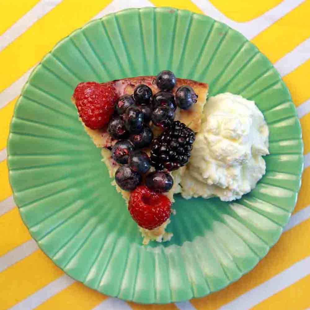 Low Carb Berry Shortcake Recipe