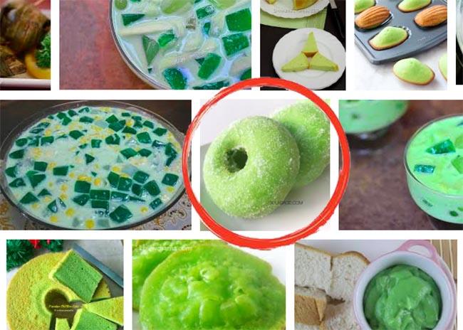 Low Carb Keto Pandan Donut Recipe