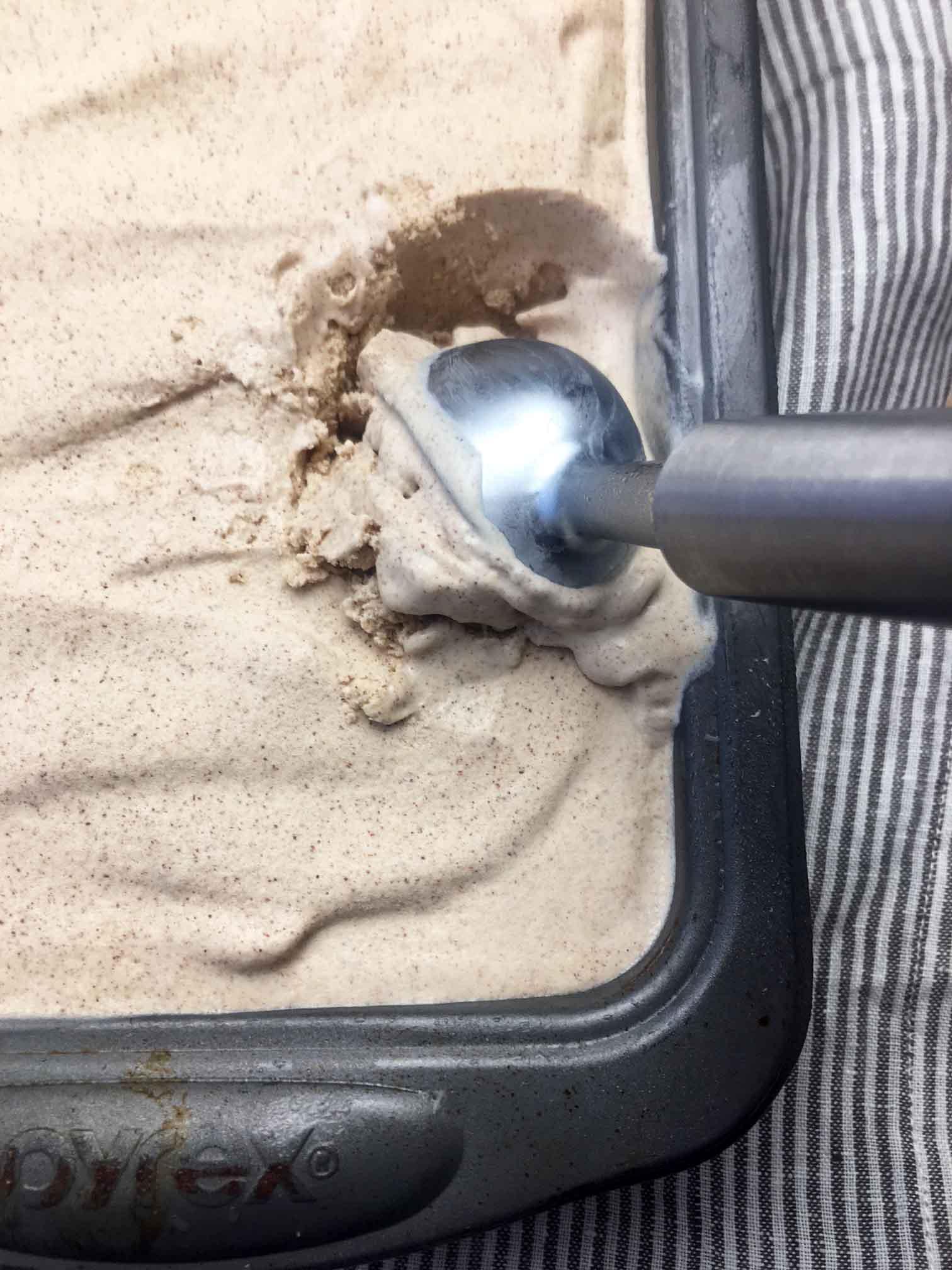 Low Carb Keto Cinnamon Brown Sugar Ice Cream Recipe