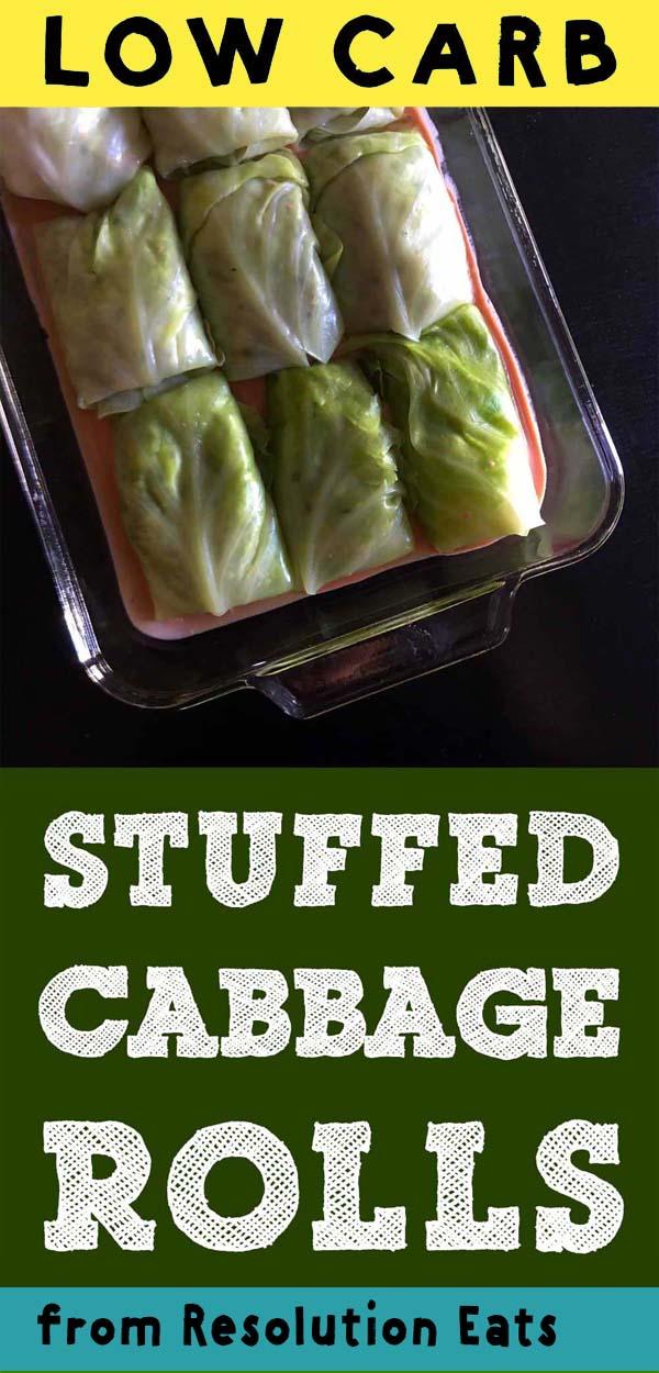 Low Carb Keto Stuffed Cabbage Rolls Recipe