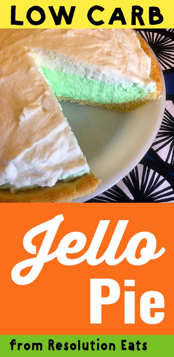 Low Carb Keto Jello Cream Pie Recipe