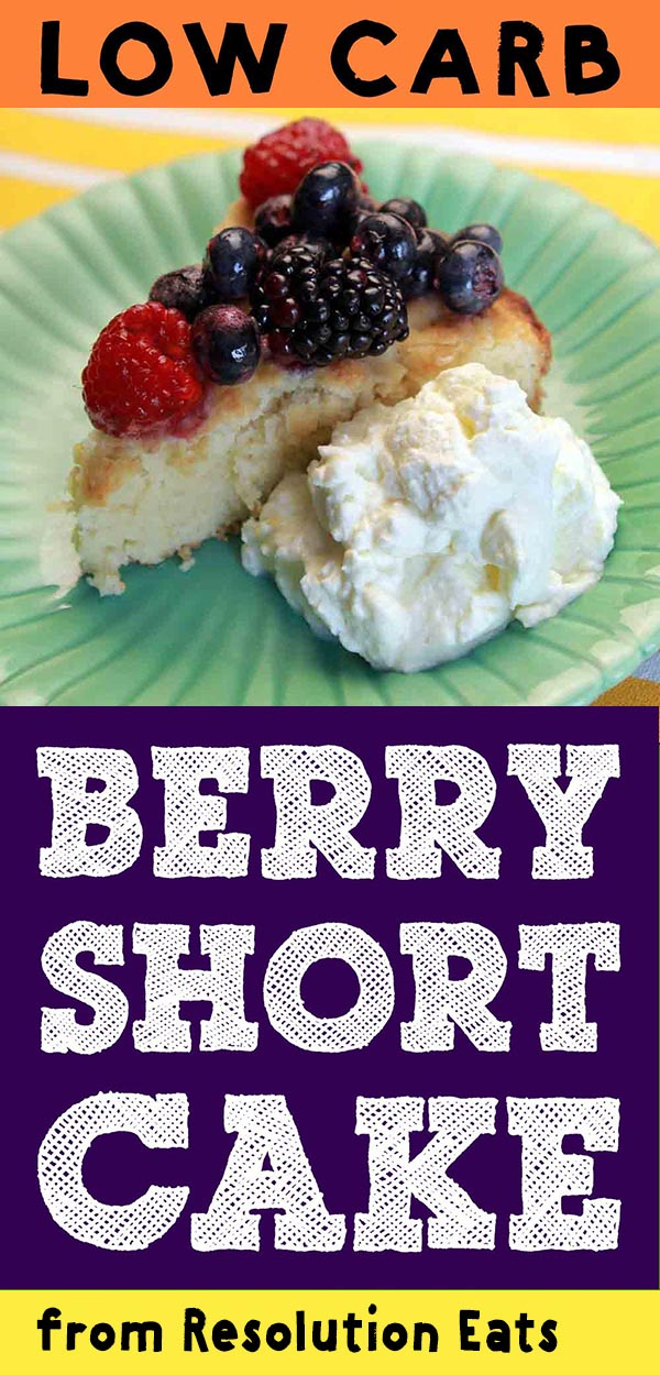 Easy Low Carb Berry Shortcake Recipe