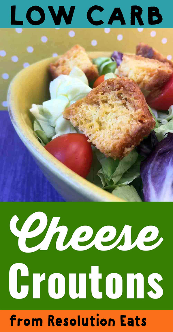 Low Carb Cheese Crouton Recipe