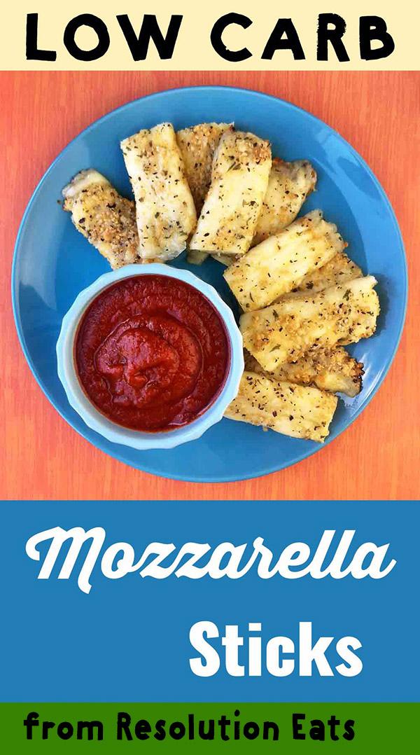 Low Carb Keto Mozzarella Sticks Recipe