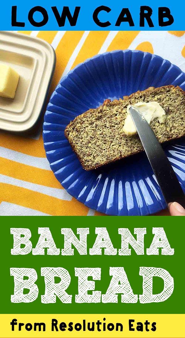 Low Carb Keto Banana Bread Recipe