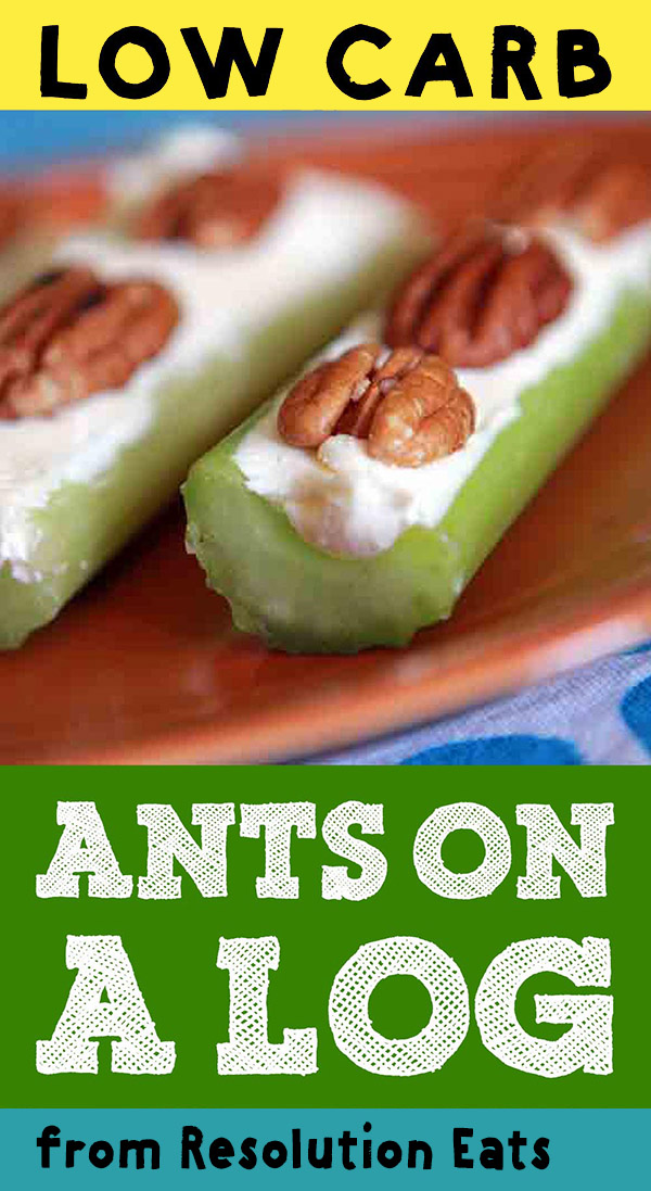 Low Carb Keto Paleo Ants on a Log Recipe