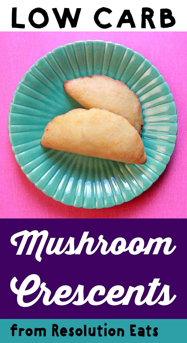 Low Carb Keto Mushroom Crescents Recipe