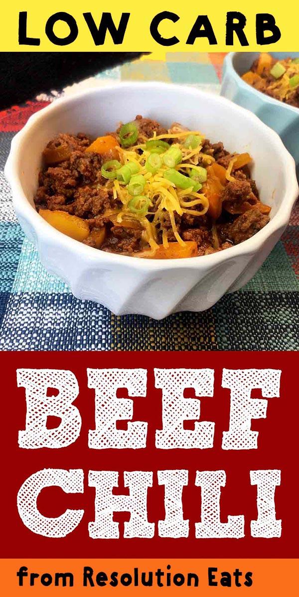 Low Carb Keto Paleo Chili Con Carne Recipe