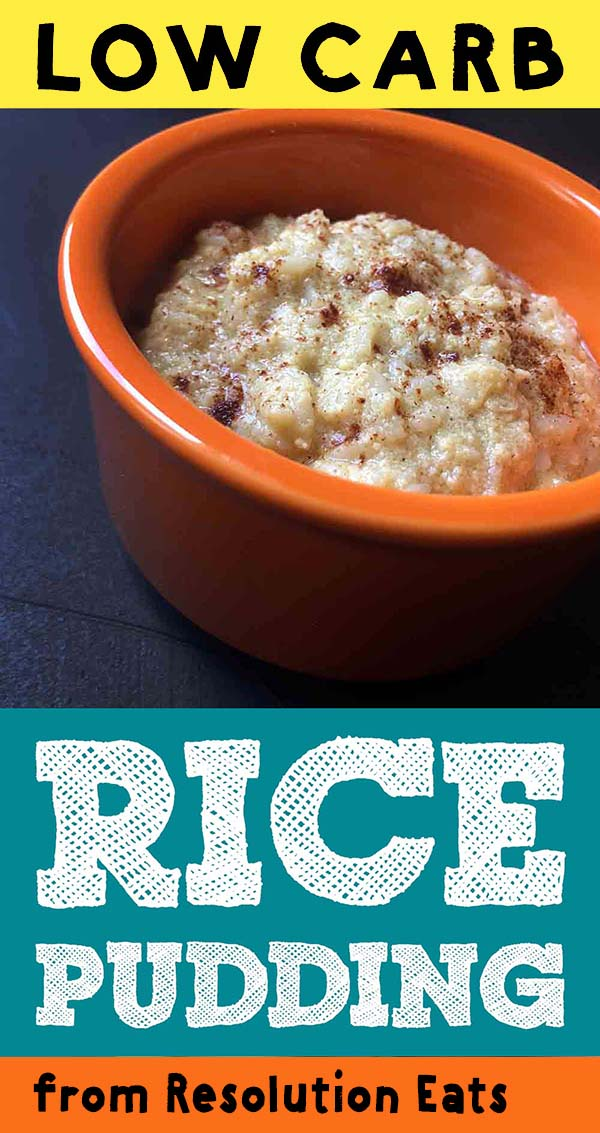 Low Carb Keto Zeroodle Rice Pudding Recipe