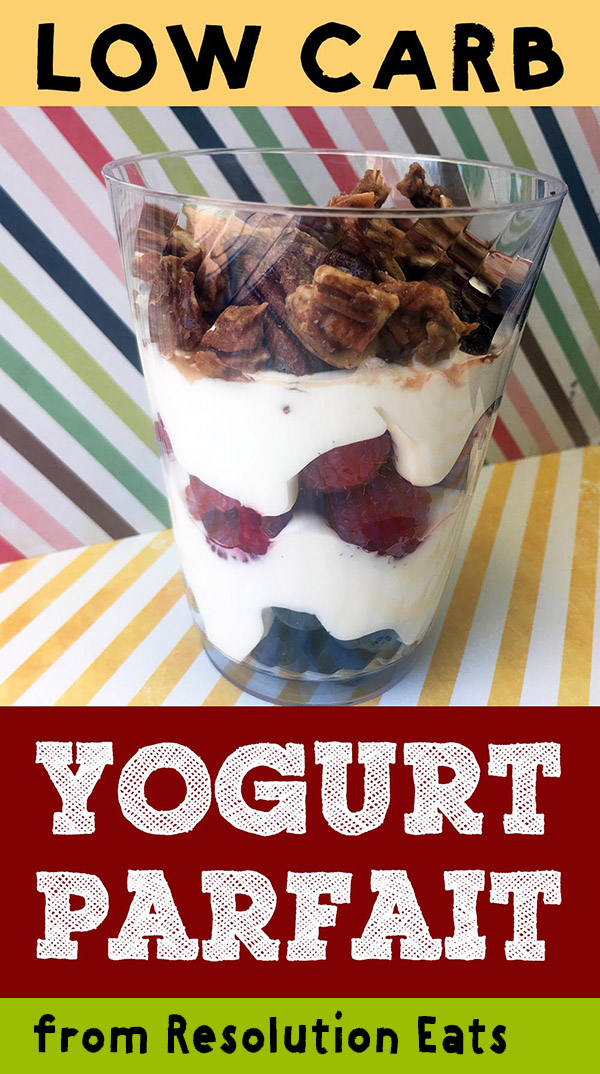 Low Carb Keto Yogurt Parfait Recipe