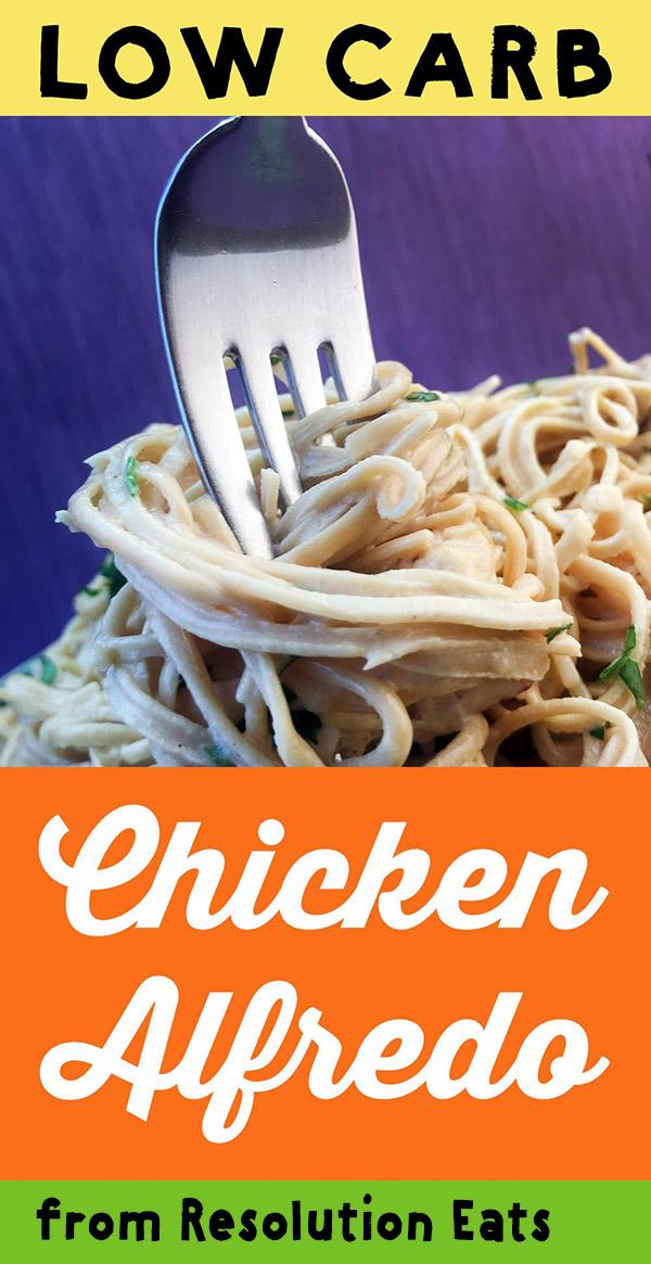 Low Carb Keto Chicken Alfredo Recipe