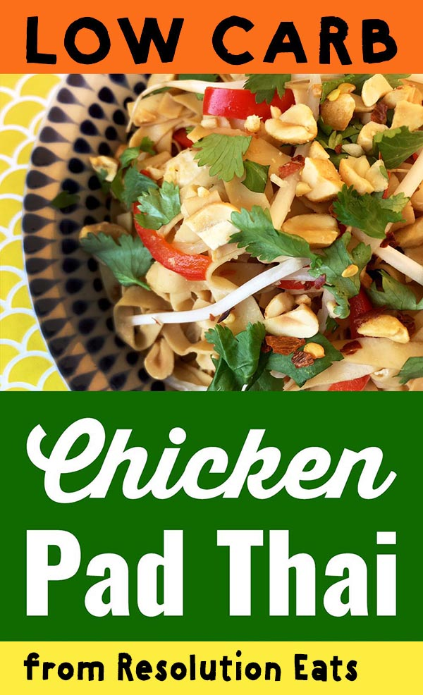 Low Carb Keto Pad Thai Recipe