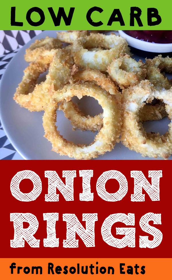 Low Carb Keto Paleo Onion Rings Recipe