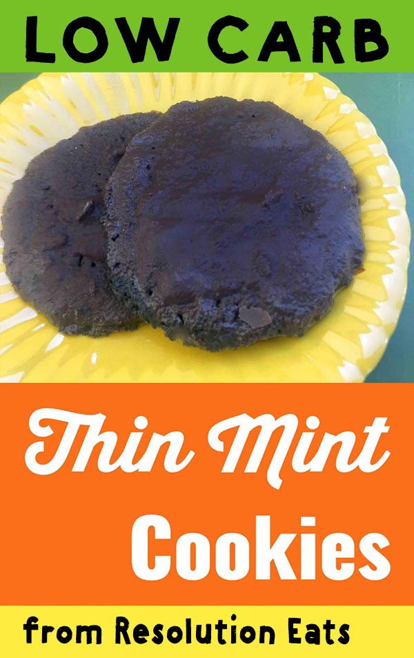Low Carb Keto Thin Mint Cookie Recipe