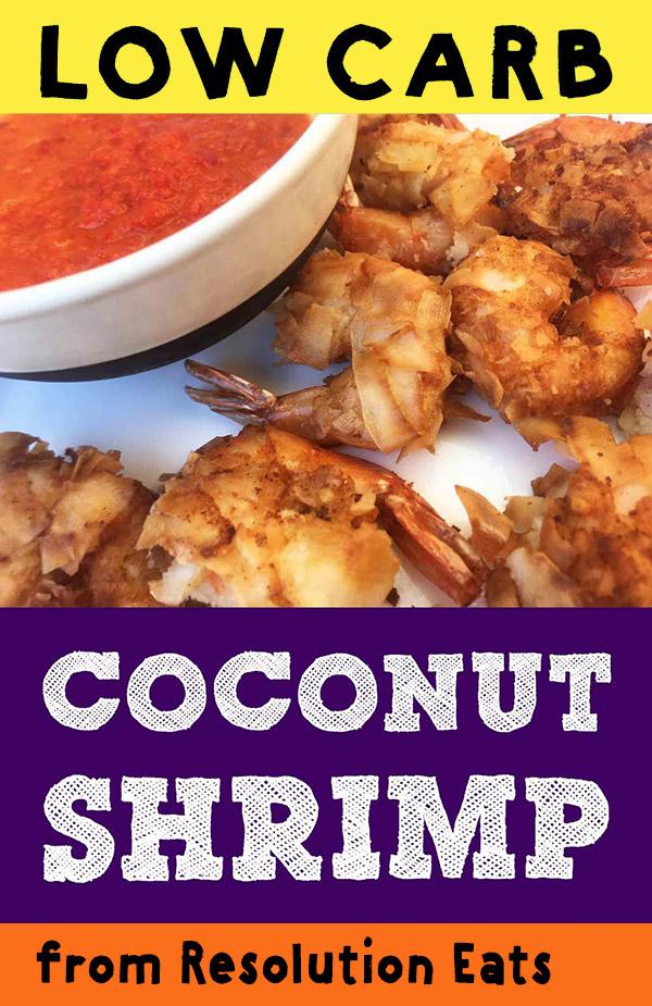 Low Carb Keto Coconut Shrimp Recipe