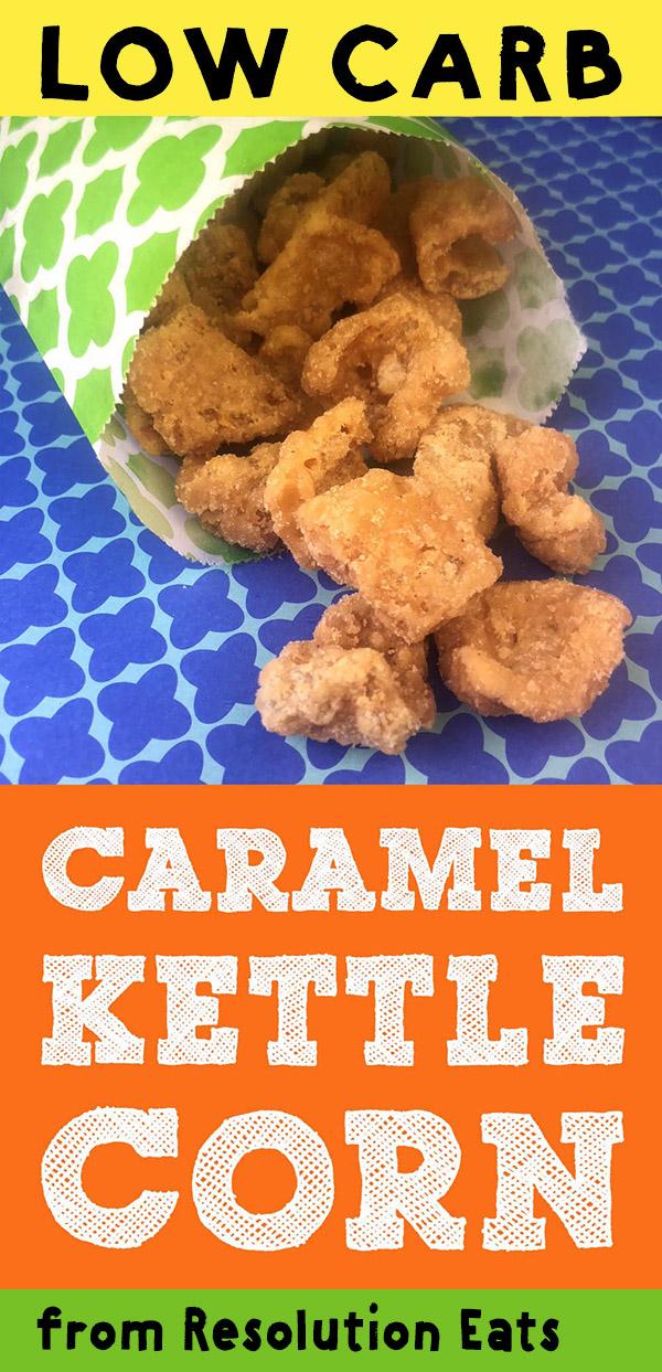 Low Carb Keto Caramel Kettle Corn Recipe