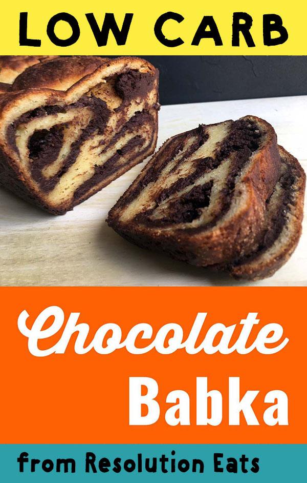 Low Carb Keto Chocolate Babka Recipe