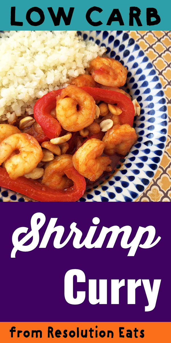 Low Carb Keto Shrimp Red Curry Recipe