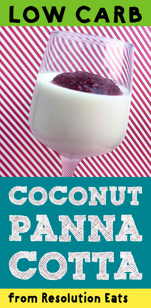 Low Carb Keto Coconut Panna Cotta Recipe