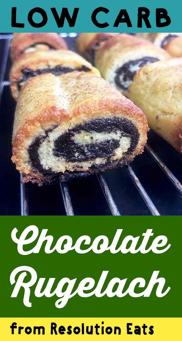 Low Carb Keto Chocolate Rugelach Recipe