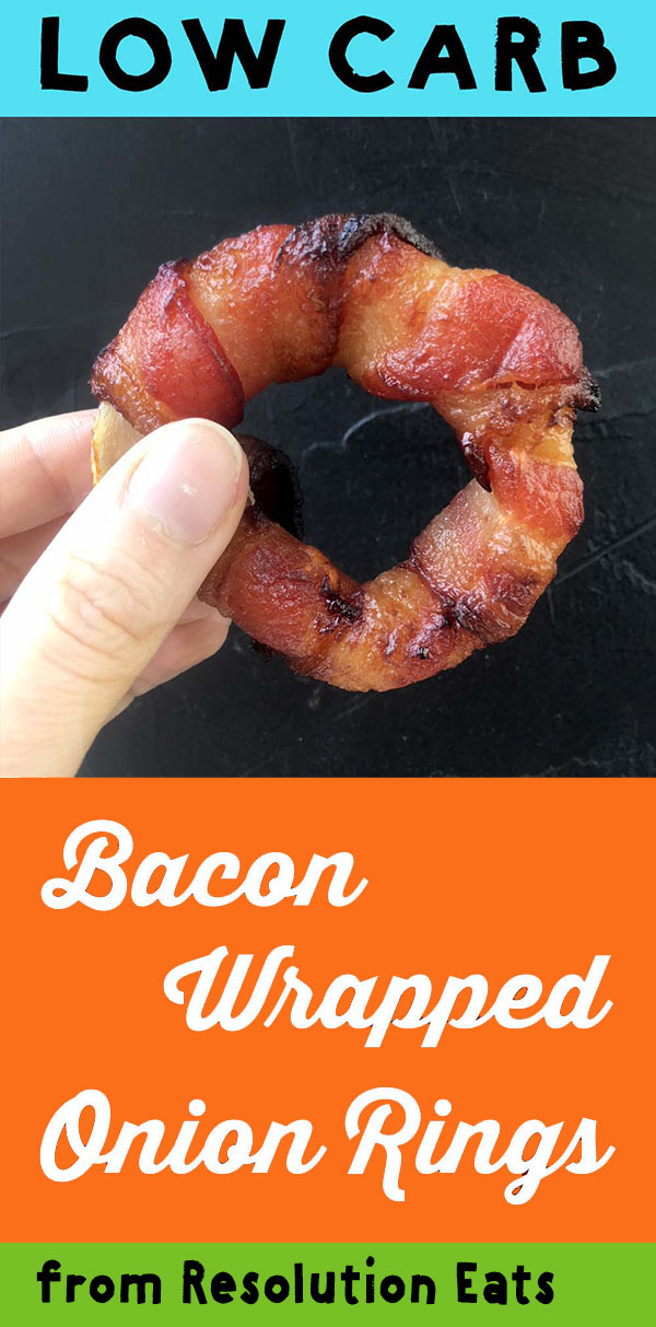 Low Carb Bacon Wrapped Onion Rings Recipe