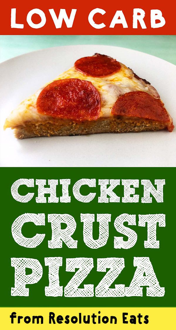 Low Carb Keto Chicken Crust Pizza Recipe