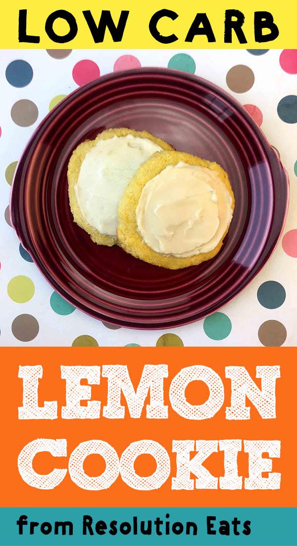 Low Carb Keto Lemon Cookie Recipe