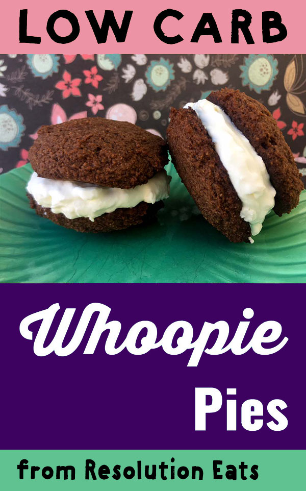 Low Carb Keto Whoopie Whoopee Pie Recipe