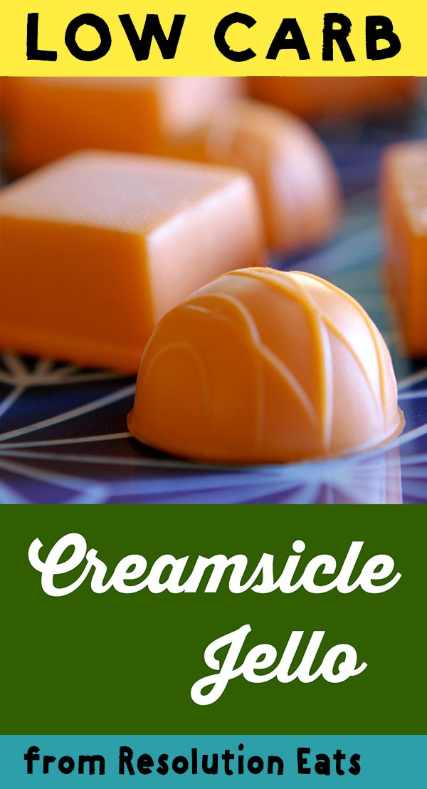 Low Carb Keto Creamsicle Gummy Candy Recipe